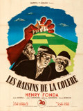 Movie Posters:Drama, The Grapes of Wrath (20th Century Fox, 1947). Fine+ on Lin...