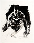 Original Comic Art:Illustrations, Bill Sienkiewicz Batman Specialty Illustration Original Art (2004). ...