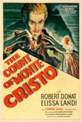 Movie Posters:Adventure, The Count of Monte Cristo (United Artists, 1934). Fine+ on...