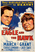 Movie Posters:War, The Eagle and the Hawk (Paramount, 1933). Very Fine+ on Li...
