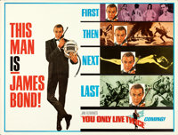 """You Only Live Twice (United Artists, 1967). Rolled, Very Fine-. Subway (59.25"""" X 45""""). Advance, Frank McCarthy..."""