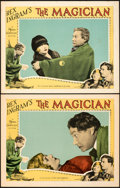 "Movie Posters:Horror, The Magician (MGM, 1926). Very Fine. Lobby Cards (2) (11"" X 14"").. ... (Total: 2 Items)"