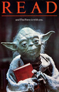 Movie Posters:Science Fiction, READ...and The Force Is With You (American Library Associa...