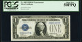 Fr. 1602 $1 1928B Silver Certificate. X-B Experimental. PCGS About New 50PPQ