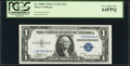 Small Size:Silver Certificates, Fr. 1608* $1 1935A Silver Certificate Star. PCGS Very Choice New 64PPQ.. ...