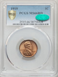 1919 1C MS66 Red PCGS. CAC. PCGS Population: (269/83 and 18/16+). NGC Census: (72/10 and 0/0+). CDN: $290 Whsle. Bid for...
