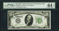 Fr. 2000-J $10 1928 Federal Reserve Note. PMG Choice Uncirculated 64 EPQ