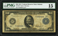 Fr. 1044 $50 1914 Federal Reserve Note PMG Choice Fine 15