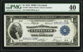 Fr. 720 $1 1918 Federal Reserve Bank Note PMG Extremely Fine 40