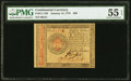 Continental Currency January 14, 1779 $80 PMG About Uncirculated 55 EPQ