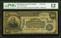 National Bank Notes:North Carolina, Wilmington, NC - $10 1902 Date Back Fr. 618 The American National Bank Ch. # (S)9124 PMG Fine 12.. ...