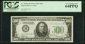 Small Size:Federal Reserve Notes, Fr. 2202-B $500 1934A Federal Reserve Note. PCGS Very Choice New 64PPQ.. ...