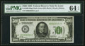Small Size:Federal Reserve Notes, Fr. 2200-H $500 1928 Federal Reserve Note. PMG Choice Uncirculated 64 EPQ.. ...