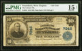 National Bank Notes:West Virginia, Pennsboro, WV - $10 1902 Plain Back Fr. 624 The Citizens National Bank Ch. # 7246 PMG Choice Fine 15 Net.. ...