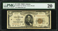 Fr. 1850-F* $5 1929 Federal Reserve Bank Star Note. PMG Very Fine 20