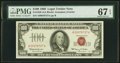 Fr. 1550 $100 1966 Legal Tender Note. PMG Superb Gem Unc 67 EPQ