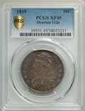 1819 50C O-112a, R.3, XF45 PCGS. PCGS Population: (1/2 and 0/1+). NGC Census: (0/2 and 0/0+). XF45. Mintage 2,208,000...