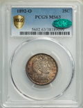 1892-O 25C MS63 PCGS. CAC. PCGS Population: (110/148 and 0/18+). NGC Census: (92/110 and 0/2+). CDN: $350 Whsle. Bid for...
