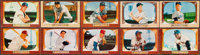 1955 Bowman Baseball Near Set (315/320) With Signed Cards (3)