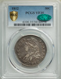 1812 50C Large 8 VF35 PCGS. CAC. PCGS Population: (153/1074 and 0/13+). NGC Census: (33/581 and 0/0+). CDN: $320 Whsle...