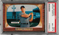 Baseball Cards:Singles (1950-1959), 1955 Bowman Mickey Mantle #202 PSA NM-MT 8....