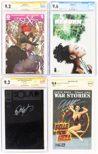 Modern Age Comics Certified Group of 7 (Various Publishers, 1999-2017).... (Total: 7 )