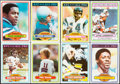 Football Cards:Sets, 1980 Topps Football Complete Set (528). ...
