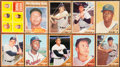Baseball Cards:Sets, 1962 Topps Baseball Complete Set (598) With Variations (4). ...