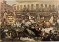 Political:Posters & Broadsides (pre-1896), Zachary Taylor: A Remarkable Broadside-Like Very Large Full Color Chromolithograph Print. ...