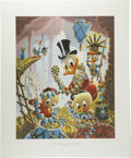 """Original Comic Art:Miscellaneous, Carl Barks - """"First National Bank of Cibola,"""" Regular EditionLithograph, numbered 10/345 (Another Rainbow, 1987).. ..."""