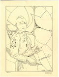 Original Comic Art:Miscellaneous, Moebius - Signed Limited Edition Print, #75/100 (1984)....