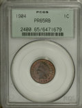Proof Indian Cents: , 1904 1C PR65 Red and Brown PCGS. PCGS Population (31/4). NGC Census: (44/7). Mintage: 1,817. Numismedia Wsl. Price for NGC/...