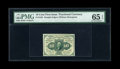 Fractional Currency:First Issue, Fr. 1243 10c First Issue PMG Gem Uncirculated 65 EPQ....