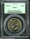 Kennedy Half Dollars: , 1995-D MS67 PCGS. ...