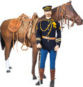 1902 7th Cavalry Trooper Ready to Ride