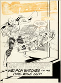 Original Comic Art:Complete Story, Gil Kane and Sid Greene The Atom #13 Complete Issue Original Art Group of 26 (DC, 1964).... (Total: 26 Original Art)