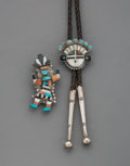 American Indian Art:Jewelry and Silverwork, Two Zuni Jewelry Items... (Total: 2 )