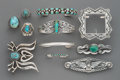 American Indian Art:Jewelry and Silverwork, Eleven Southwest Jewelry Items including three...