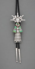 American Indian Art:Jewelry and Silverwork, A Southwest Bolo Tie...