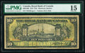 Canada Montreal, PQ- Royal Bank of Canada $10 2.1.1913 Pick S1379 Ch.# 630-12-06 PMG Choice Fine 15