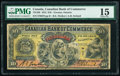 Canada Toronto, ON- Canadian Bank of Commerce $10 1.5.1912 Pick S961 Ch.# 75-14-28 PMG Choice Fine 15