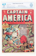 Golden Age (1938-1955):Superhero, Captain America Comics #4 (Timely, 1941) CBCS Restored VG+ 4.5 Slight to Moderate (A) Off-white pages....