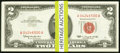 Small Size:Legal Tender Notes, Fr. 1513 $2 1963 Legal Tender Notes. Fifty Consecutive Examples. Choice Crisp Uncirculated.. ... (Total: 50 notes)