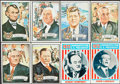 "Non-Sport Cards:Lots, 1972 Topps ""U.S. Presidents"" Near Set (36/43) With Wrapper Plus Extras (34). ..."