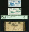 Montrose, PA- Silver Lake Bank, Payable at New York City Contemporary Counterfeit $5 Jan. 1, 1819 C20 PCGS Apparent Very...