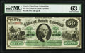 Obsoletes By State:South Carolina, Columbia, SC- State of South Carolina $50 Mar. 2, 1872 Cr. 8 PMG Choice Uncirculated 63 EPQ.. ...