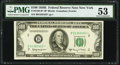 Fr. 2162-B* $100 1950E Federal Reserve Star Note. PMG About Uncirculated 53