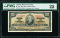 World Currency, Canada Bank of Canada $100 2.1.1937 Pick 64b BC-27b PMG Very Fine 25.. ...