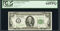 Fr. 2154-J $100 1934B Federal Reserve Note. PCGS Very Choice New 64PPQ