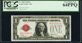Fr. 1500 $1 1928 Legal Tender Note. PCGS Very Choice New 64PPQ